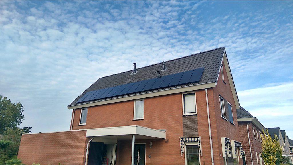 Nieuwbouw woningen voorziet Solarama graag van zonnepanelen